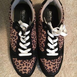 56c0e593f6a7 Mossimo Supply Co. Mossimo leopard print sneakers.